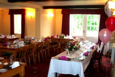 Weddings, parties, occasions at Osmaston Pub, Derbyshire